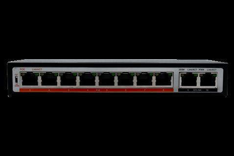 Коммутатор PoE IPTRONIC PS1-E10P8
