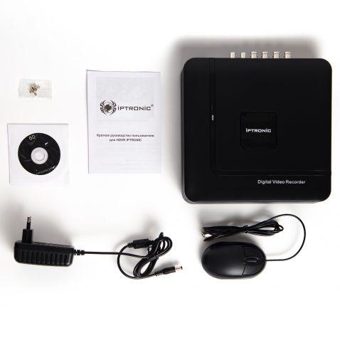 Мультиформатный видеорегистратор IPTRONIC AHDR0420QPX