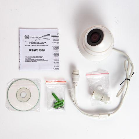 Купольная IP-видеокамера IPTRONIC IPT-IPL1080DP(2,8)P